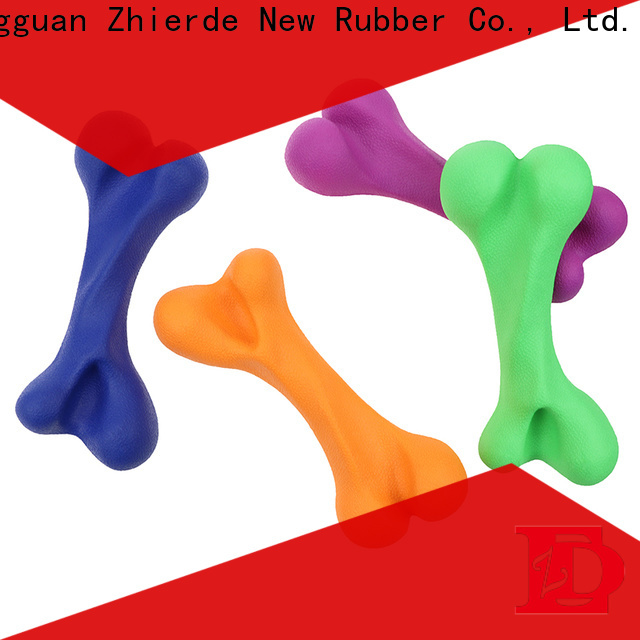 reliable rubber dog bone supplier for pet