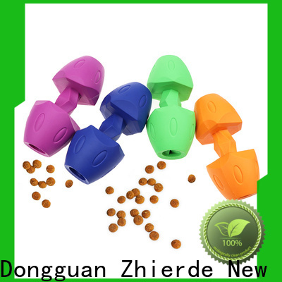 Zhierde dog food toys factory direct supply for training
