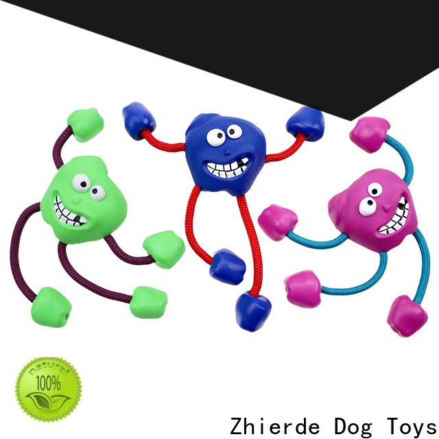 safe dog chew rope toys wholesale for playing