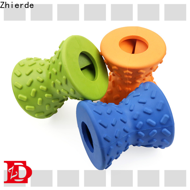 Zhierde food dispenser toy for dogs manufacturer for teething