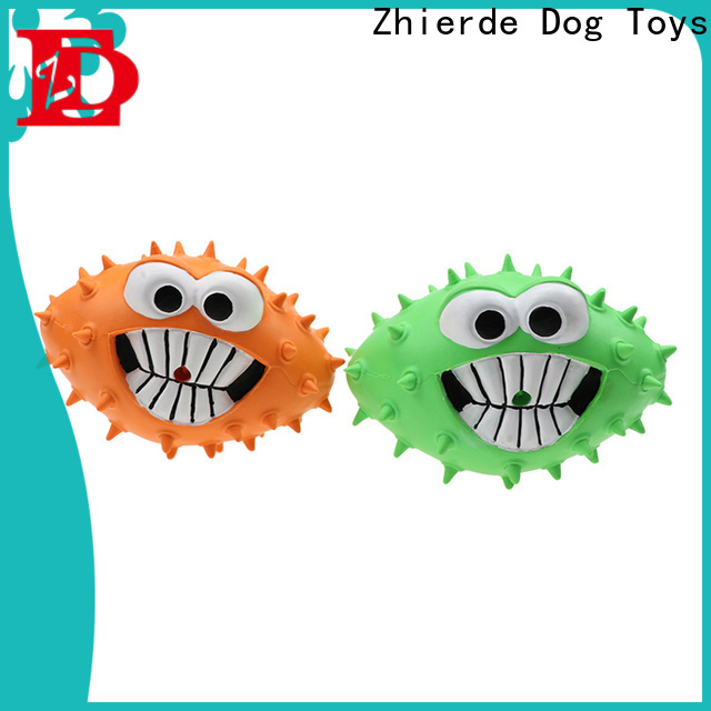 Zhierde professional unbreakable dog toys company for playing