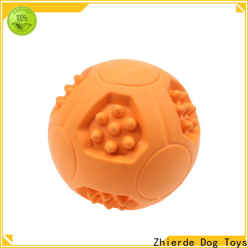 Zhierde treat dispensing dog toys with good price for playing