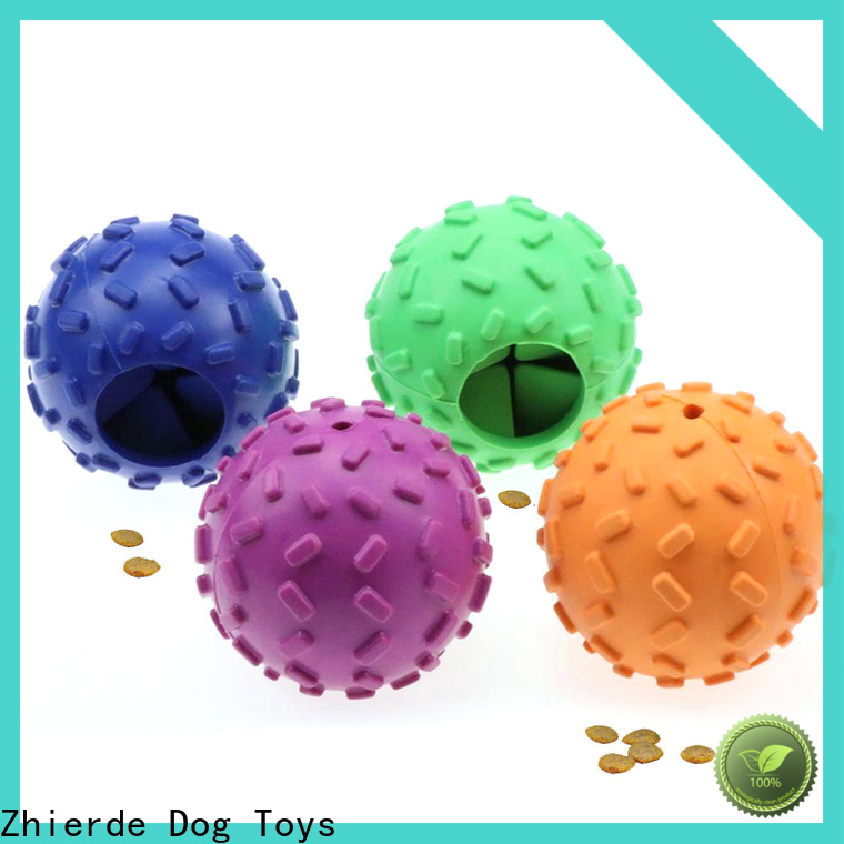 Zhierde cost-effective treat dispensing toys factory direct supply for teething