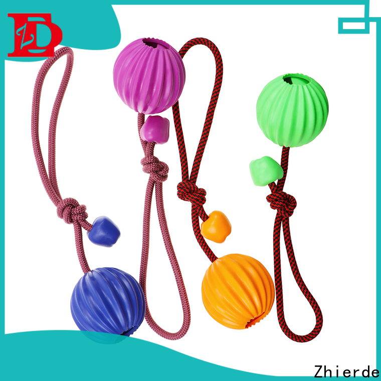 Zhierde approved dog chew rope toys wholesale for pet