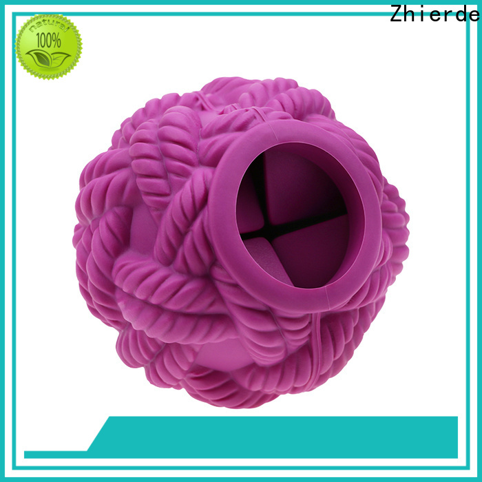Zhierde treat dispensing toys manufacturer for playing