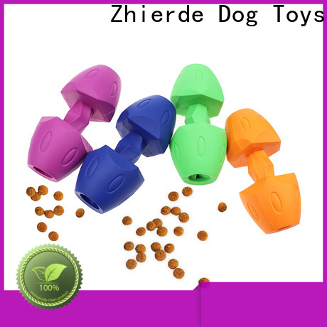 Zhierde high-quality treat dispensing dog toys factory direct supply for teething