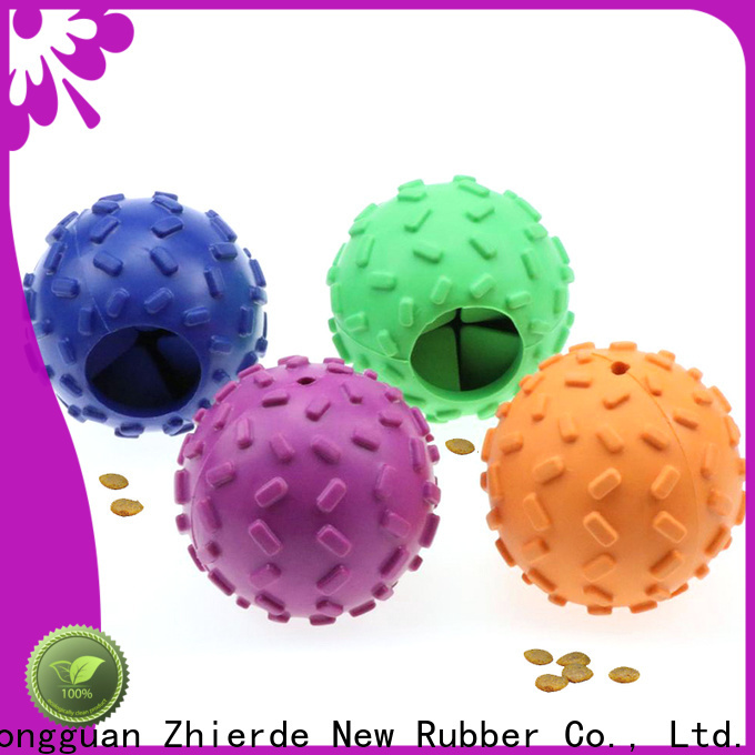 top treat dispensing dog toys with good price for exercise