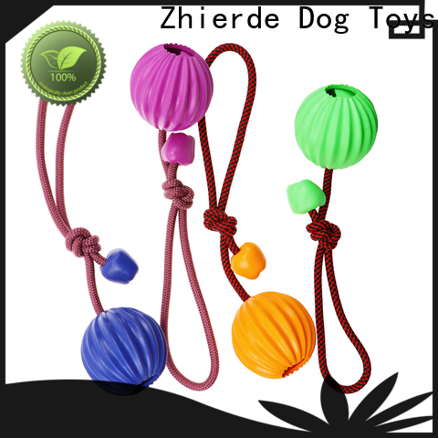 approved dog rope chew toy manufacturer for playing