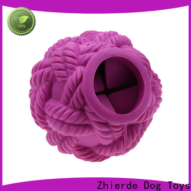 Zhierde latest treat dispensing toys for dogs supplier for teething