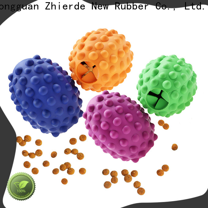Zhierde durable treat dispensing toys supplier for playing