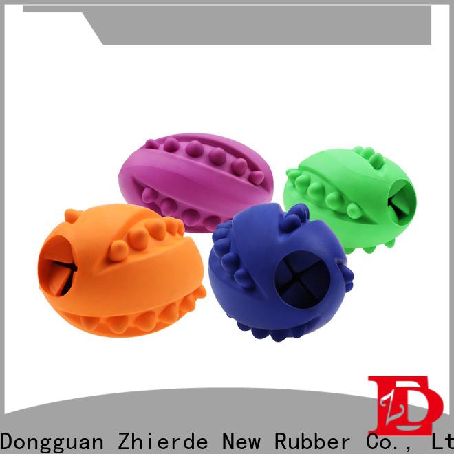 durable dog food dispenser toy manufacturer for exercise