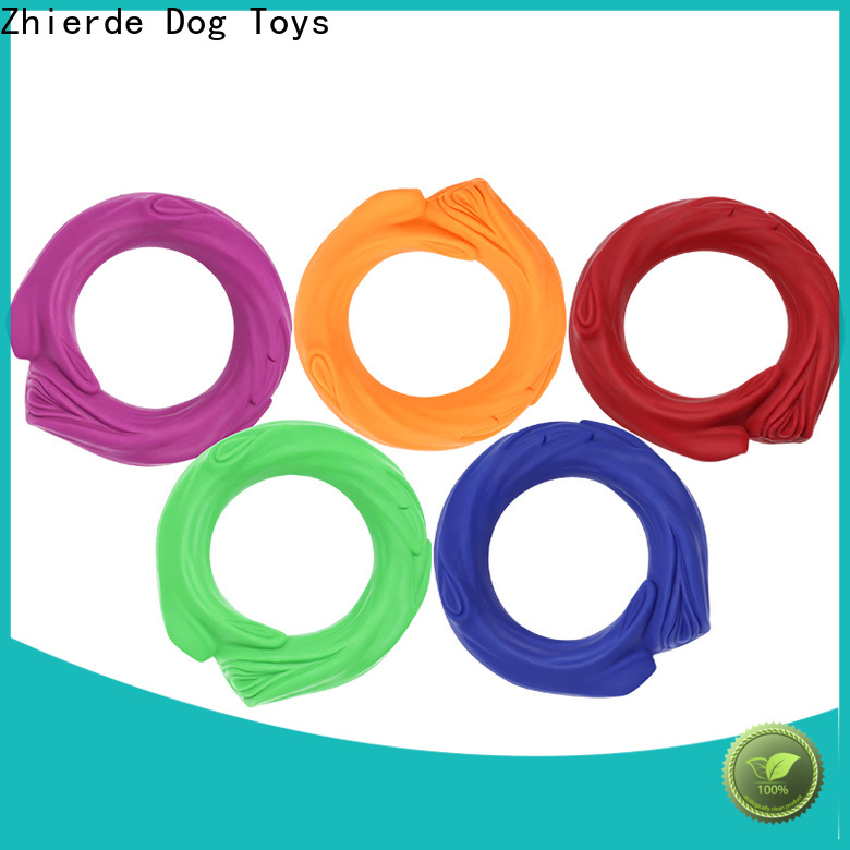 Zhierde squeaky dog toys company for teething