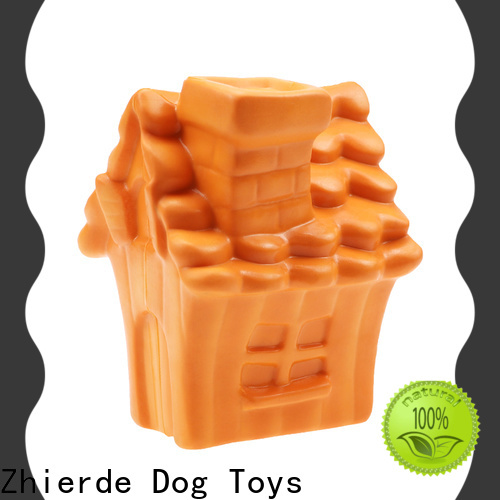 Zhierde dog food dispenser toy manufacturer for playing