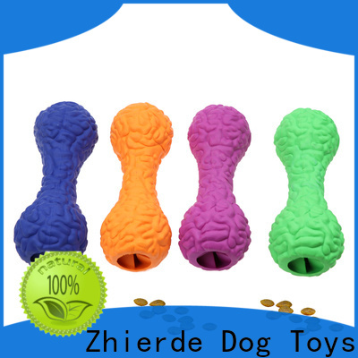 Zhierde durable food dispensing toy factory direct supply for exercise
