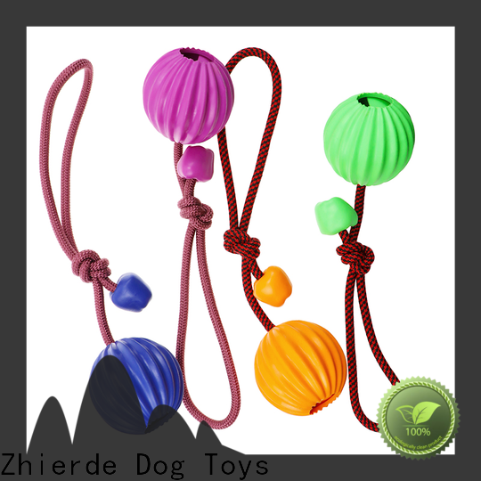Zhierde enjoyable dog rope chew toy wholesale for pet
