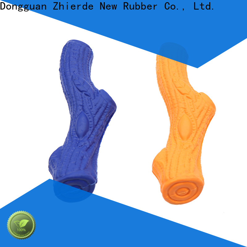Zhierde rubber dog bone factory direct supply for exercise