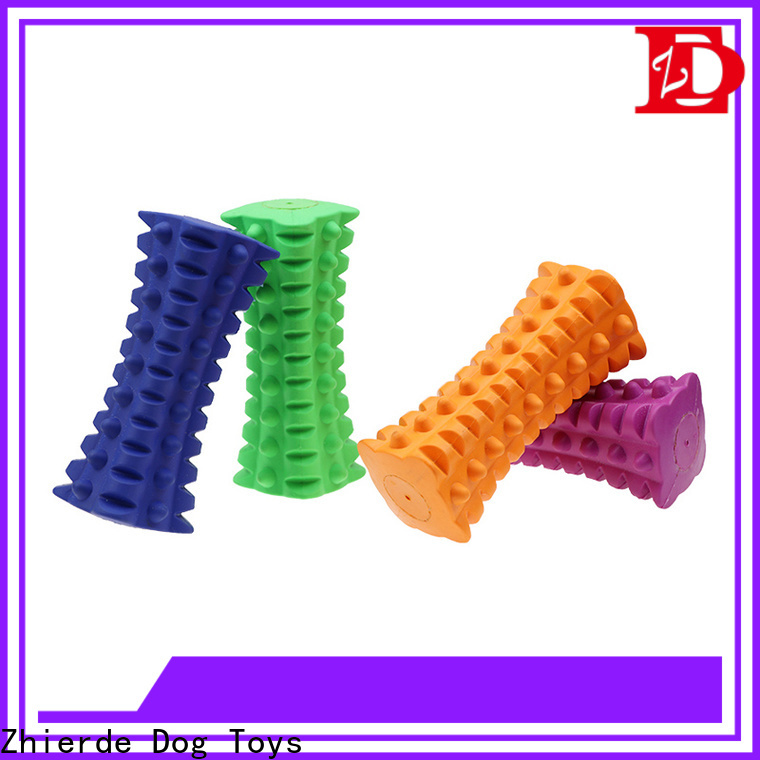 Zhierde indestructible rubber dog toys manufacturers for exercise