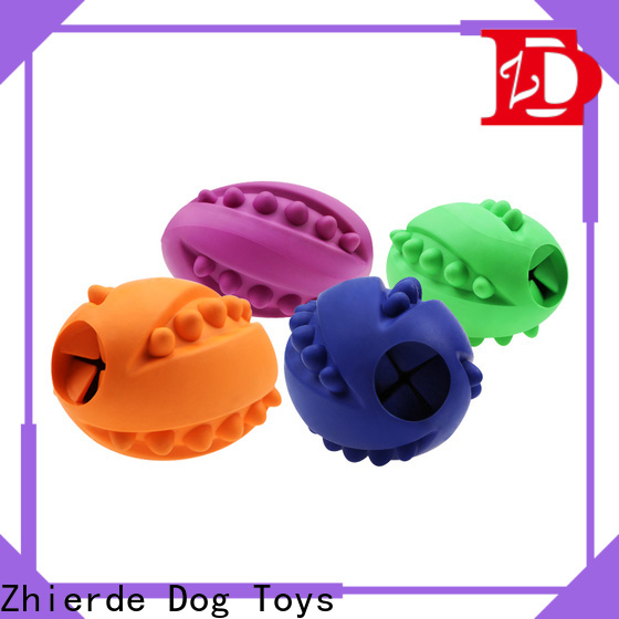 Zhierde food dispensing toy with good price for chewing