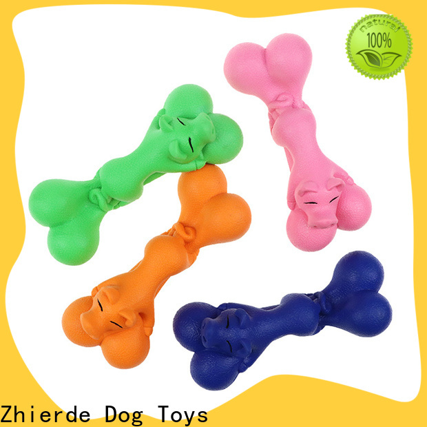 Zhierde dog toy bone supplier for playing