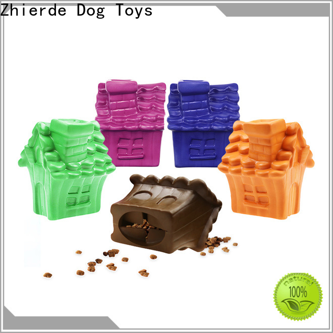 Zhierde safe treat dispensing toys factory direct supply for chewing