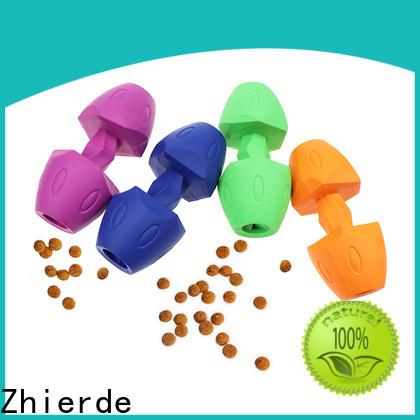Zhierde dog food dispenser toy manufacturer for exercise