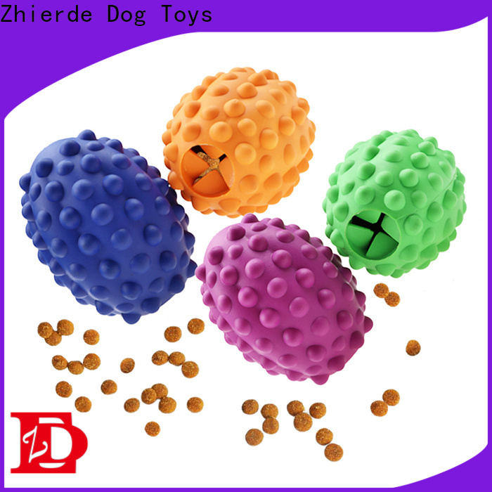 Zhierde latest food dispensing toy manufacturer for training