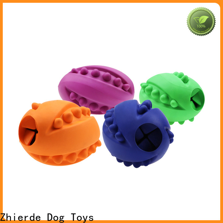Zhierde safe treat dispensing toys for dogs factory direct supply for training