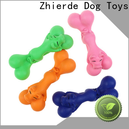 interesting rubber bone dog toy manufacturer for teething