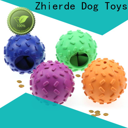 Zhierde dog food toys supplier for training