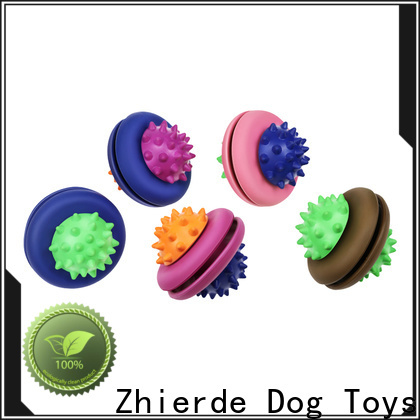 funny treat dispensing dog toys factory direct supply for chewing
