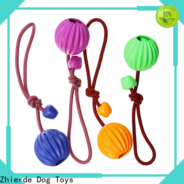 Zhierde enjoyable rope chew toys for dogs wholesale for playing