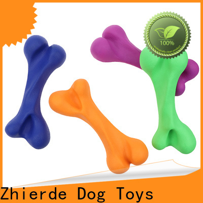 eco-friendly dog chew toys wholesale for playing
