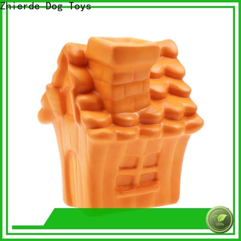Zhierde top food dispenser toy for dogs factory direct supply for teething