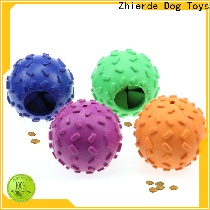 Zhierde treat dispensing toys for dogs supplier for exercise
