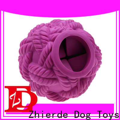 Zhierde treat dispensing toys for dogs factory direct supply for playing