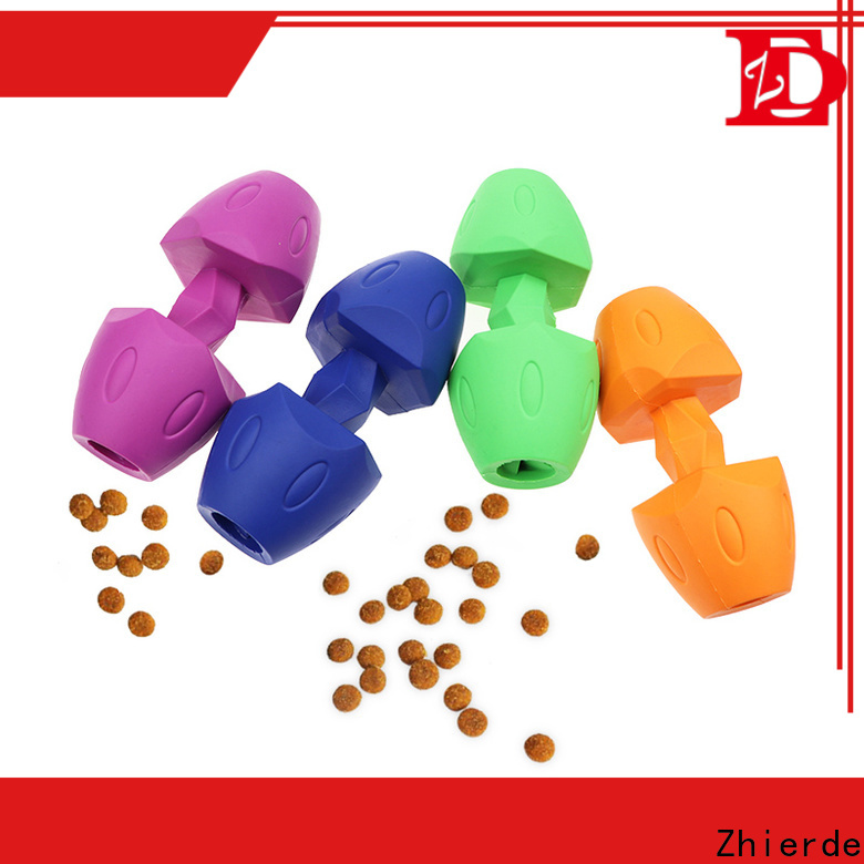 Zhierde safe dog food dispensing toy supplier for teething
