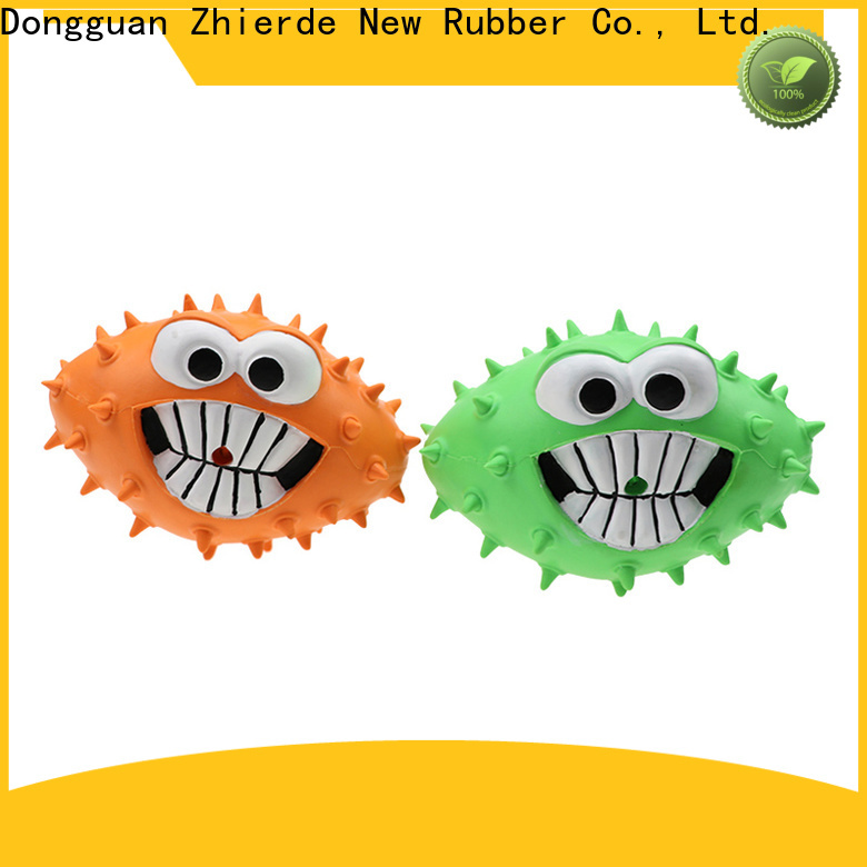 Zhierde reliable indestructible rubber dog toys supply for chewing