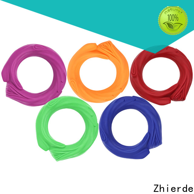 Zhierde rubber squeaky dog toys manufacturers for pet