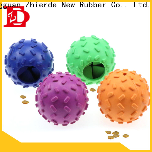 Zhierde dog food dispenser toy supplier for playing