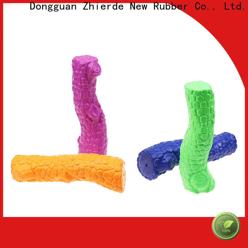 Zhierde indestructible rubber dog toys wholesale for chewing