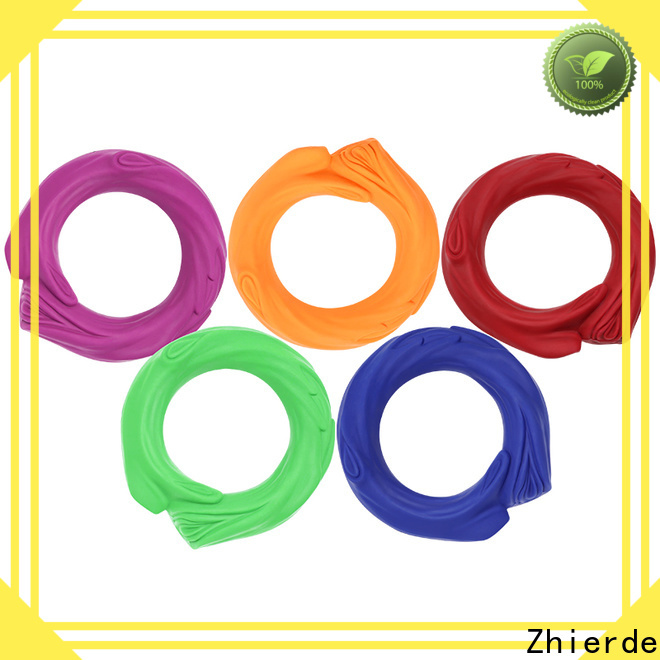 Zhierde rubber squeaky dog toys company for exercise