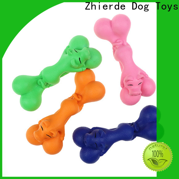 Zhierde eco-friendly bone toys for dogs wholesale for teething