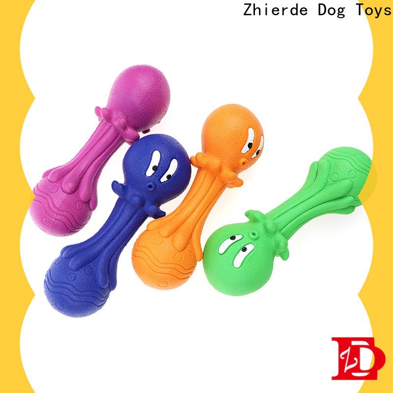 Zhierde eco-friendly dog bone chew toy manufacturer for training