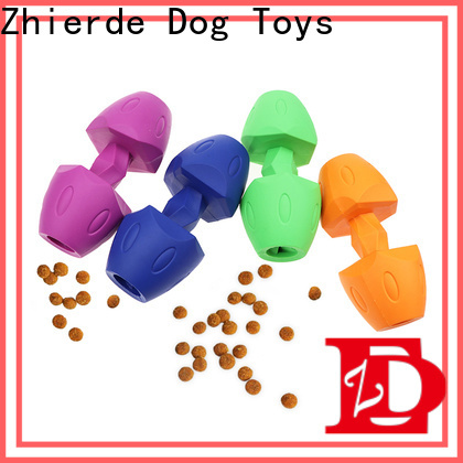 Zhierde dog food dispenser toy with good price for playing