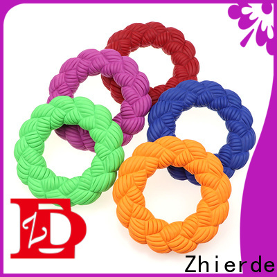 durable rubber squeaky dog toys supply for teething
