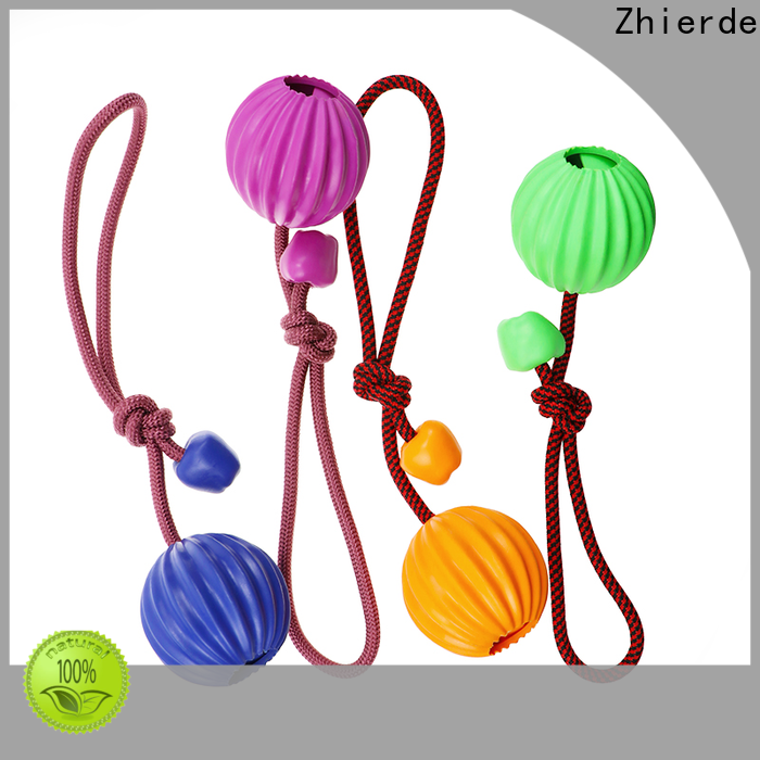 Zhierde interesting rope chew toys for dogs wholesale for training