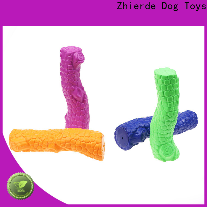Zhierde indestructible dog toy factory for pet