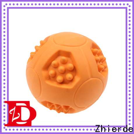 Zhierde latest dog food dispensing toy manufacturer for chewing