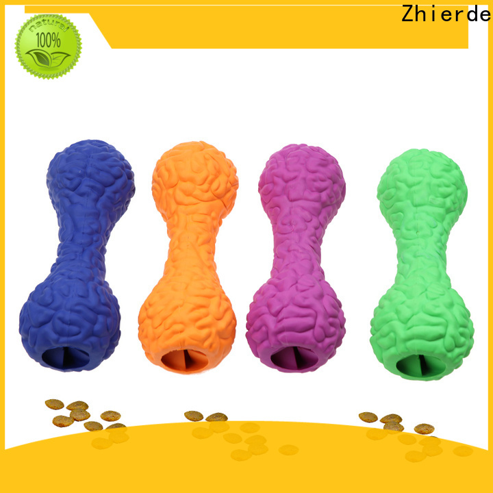 Zhierde treat dispensing toys wholesale for teething