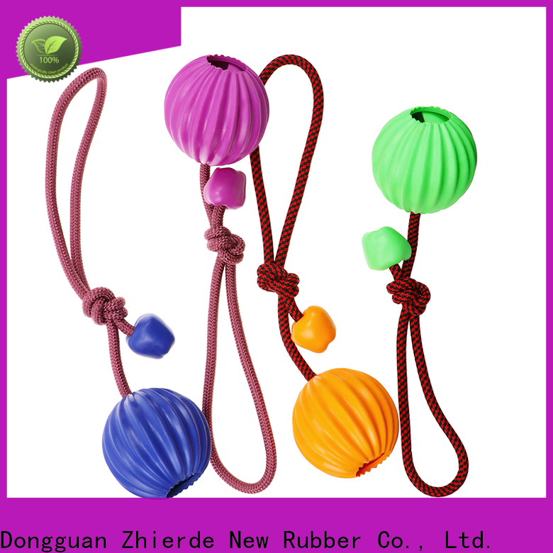 Zhierde dog rope chew toy wholesale for pet